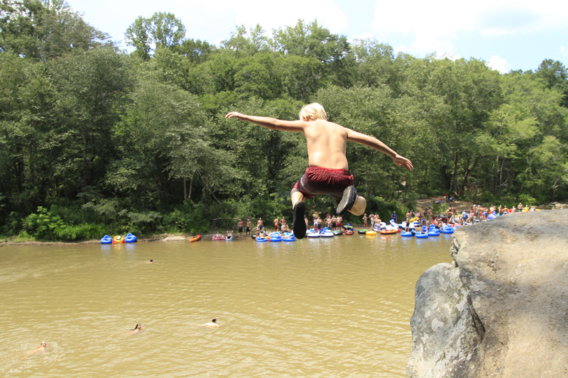 Jumping Rock - Chattahoochee River - Atlanta, Ga.