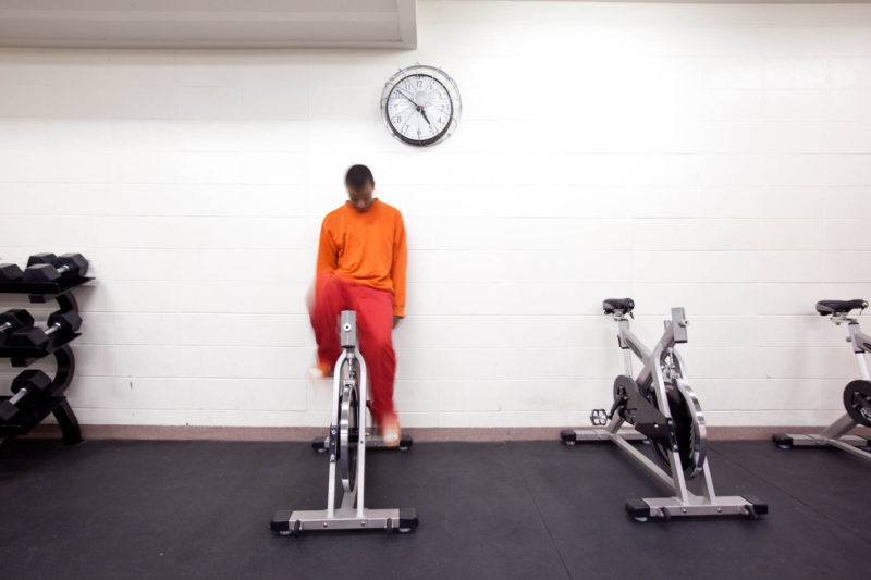 Gym, Racine County Juvenile Detention, Racine, Wisconsin