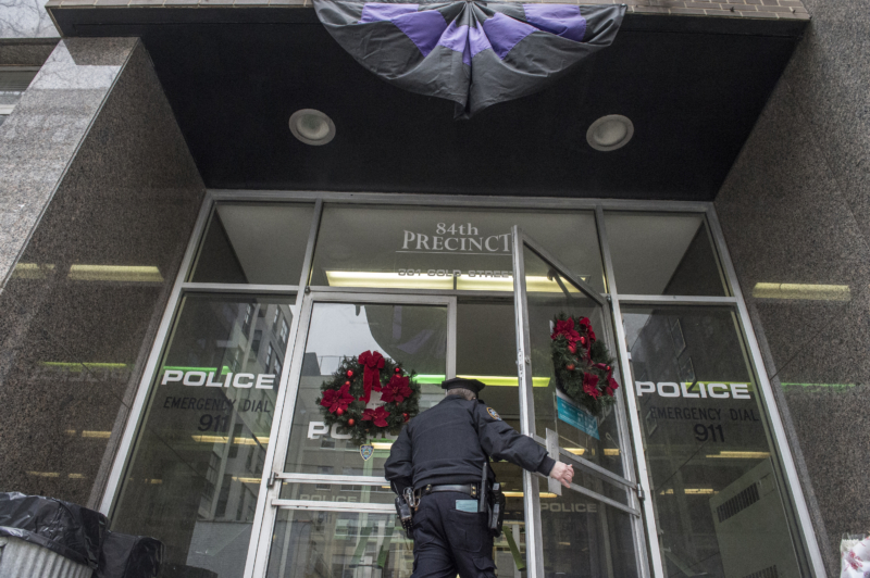NYPD officers Ramos & Liu killed during protests over Eric Garner case verdict