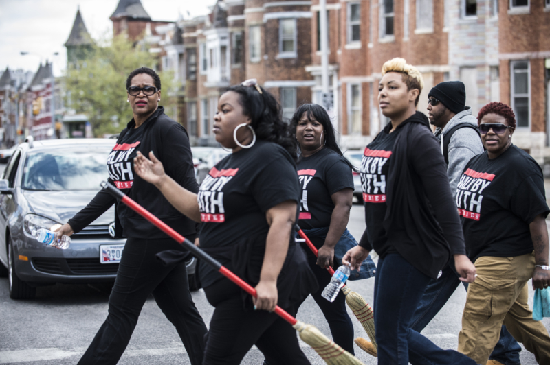 Baltimore Protests 2015 April & May