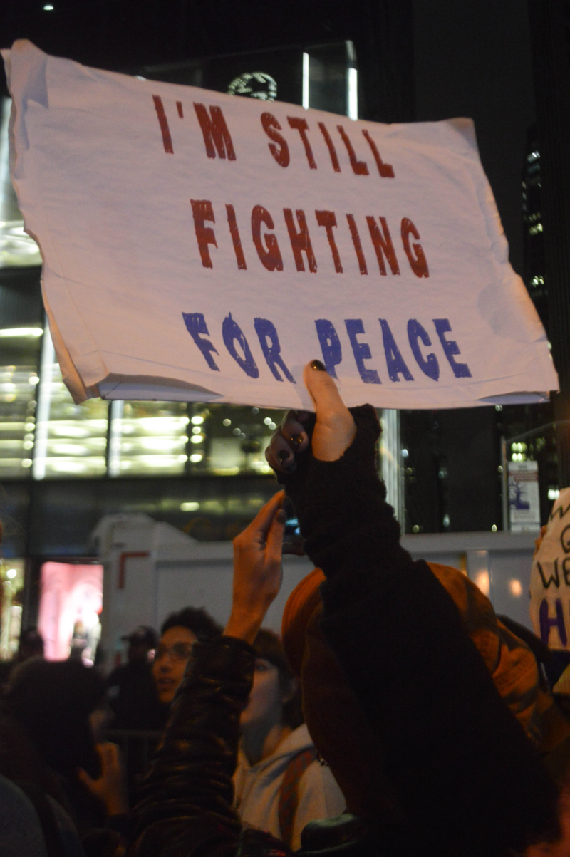 Protest:Young People Protest U.S. Election