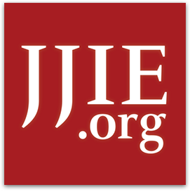 JJIE.org white text on red square