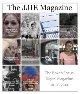 JJIE Magazine 2013-14 cover with 10 images