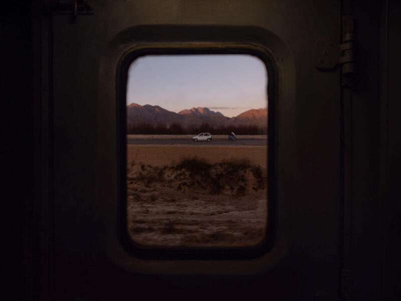 Ali Sardar: View from train window to see other modes of travel