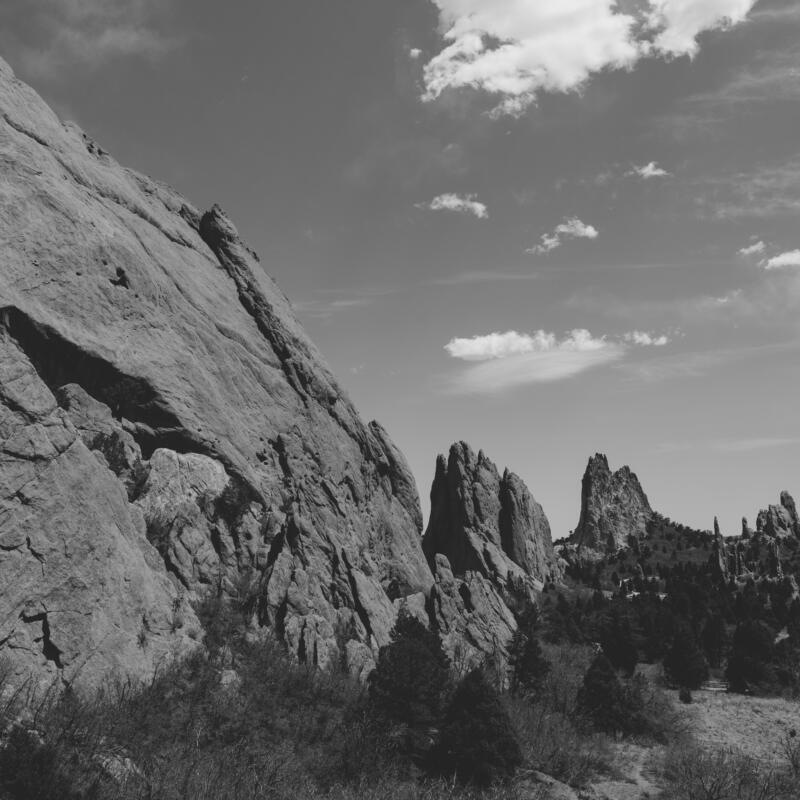 Ali sardar: Mountain range in the heart of Colorado peak trails.